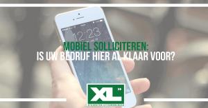 mobiel solliciteren